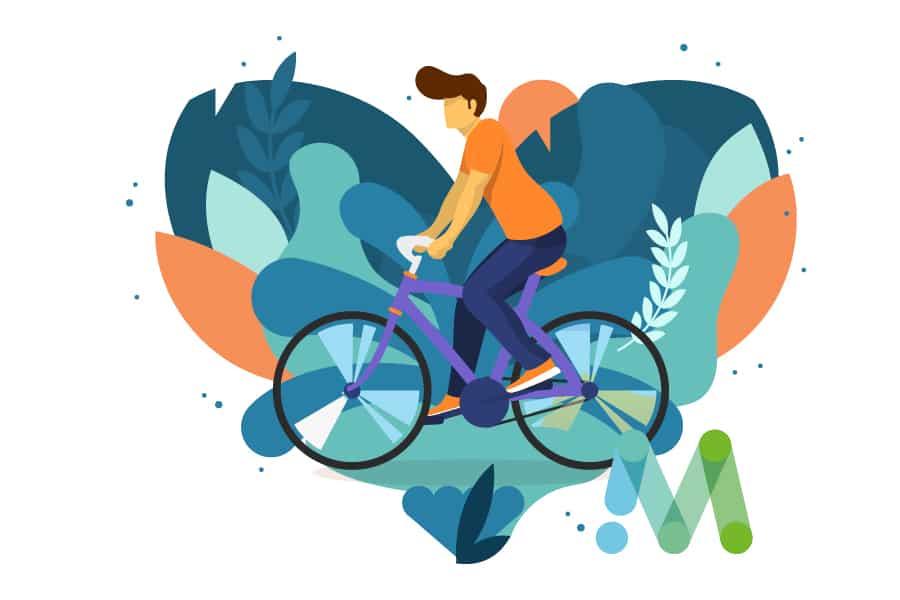 Vitaliteit en fietsstimulering