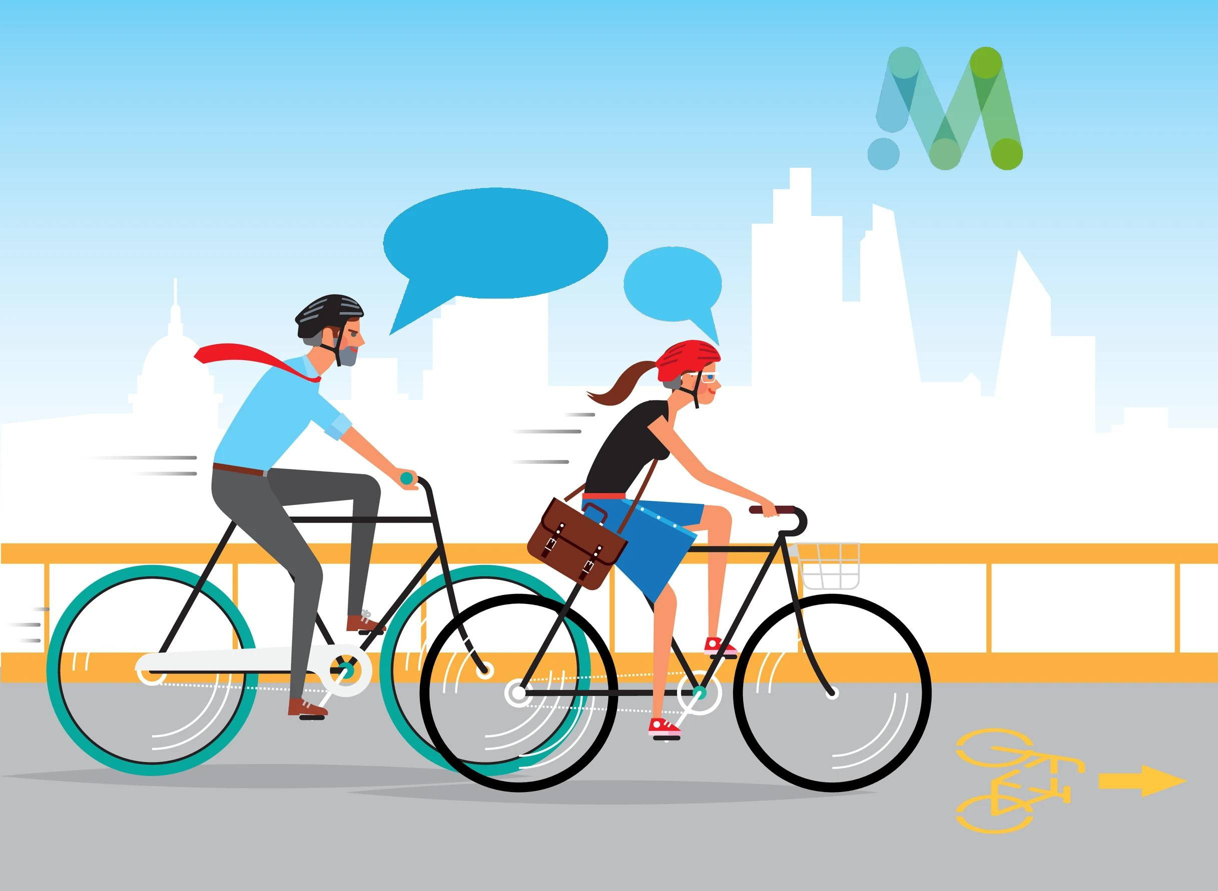 Bike meetings – Fietsen en vergaderen