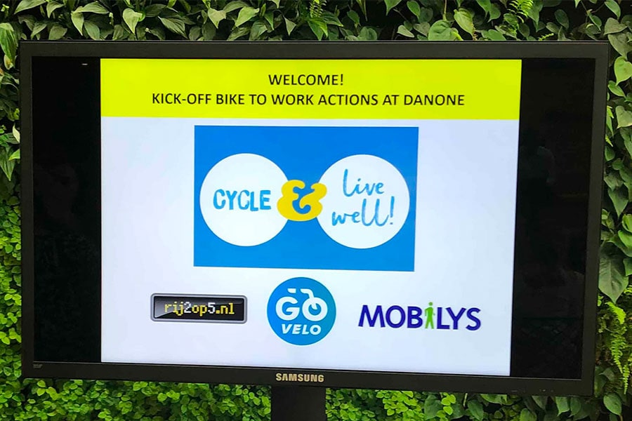 Danone: cycle & live well